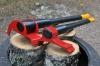 12 klausimas: Turiu tik 10 cm (4 colių) skersmens medienos kalades. Kaip jas sukapoti?